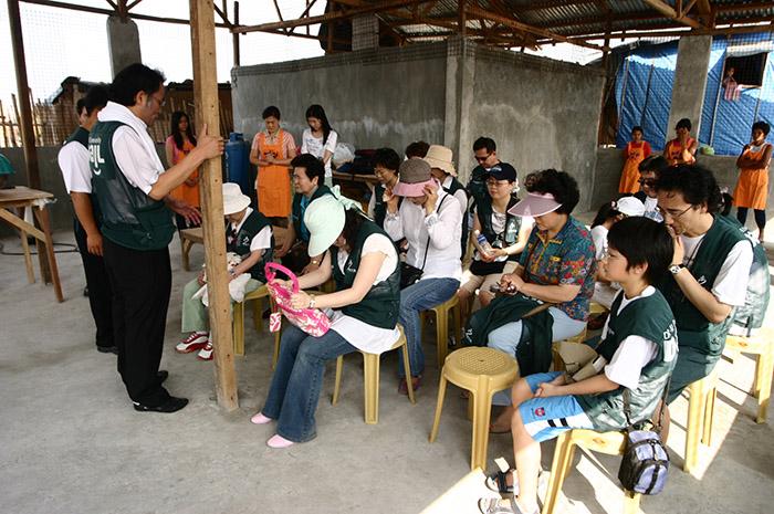 필리핀 다일공동체 밥퍼건물 완공 개원식