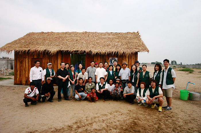 캄보디아 다일공동체 개원식
